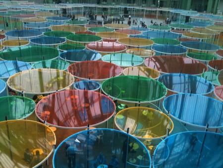 Daniel Buren - Grand Palais 2012